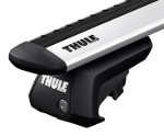 Thule WingBar Roof Bars for the FORD Escort 5-dr Estate 1991 - 1999 with Roof Rails