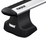 Thule WingBar Roof Bars for the VOLKSWAGEN Tiguan 5-dr SUV 2007 on with Normal Roof