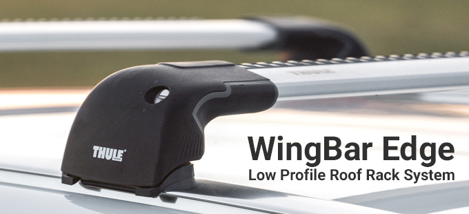 WingBar Edge Low Profile Roof Bars
