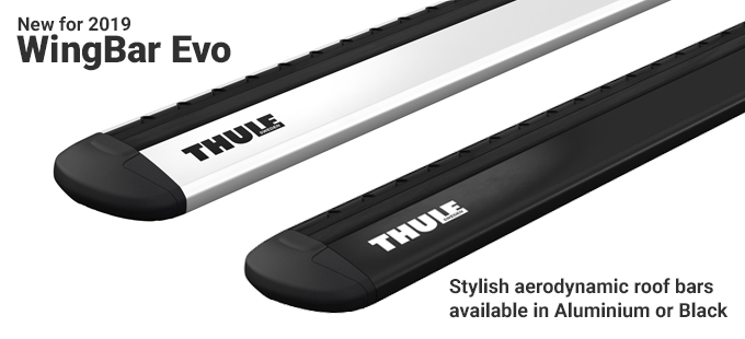 WingBar Evo Aerodynamic Quiet Roof Bars