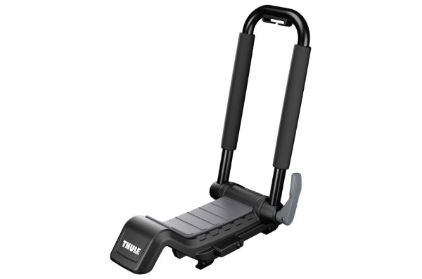 Thule Hull A Port XT 848 - Upright J-Cradle Kayak Carrier for Roof Racks
