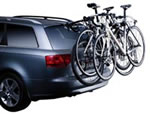 Boot mounted cycle racks