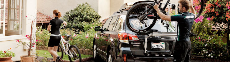 Rear Mounted Car Bike Racks by THULE