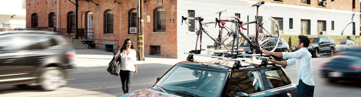 Roofrack Cycle Carriers by THULE