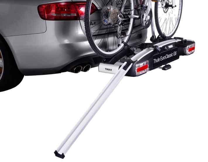Car Boot Mounted Cycle Carriers Thule Rear Mount Bike Racks