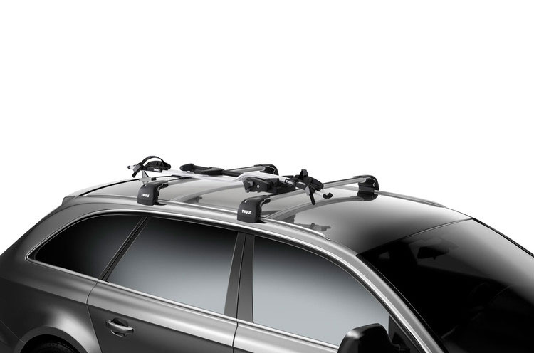 Thule Proride 598 Cycle Carrier Car Roof Mounted Bike