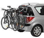 Rear Mounted Cycle Carriers - clamp to the car boot