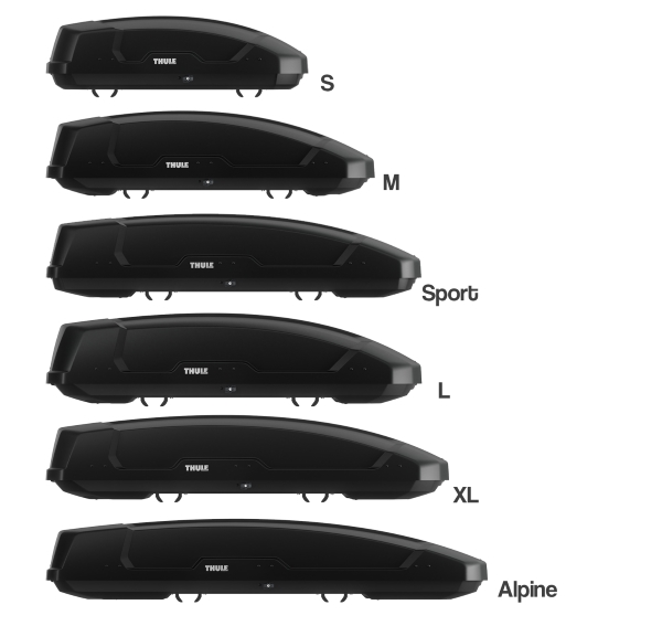 Thule Force XT Roof Boxes