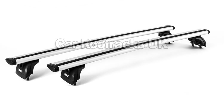 Audi Q3 5dr SUV 2012  Roof Rack With Aerodynamic Wing Bars