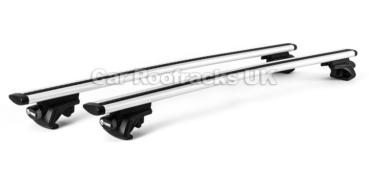 thule 757 rapid fit foot pack for roof rail cars. Black Bedroom Furniture Sets. Home Design Ideas
