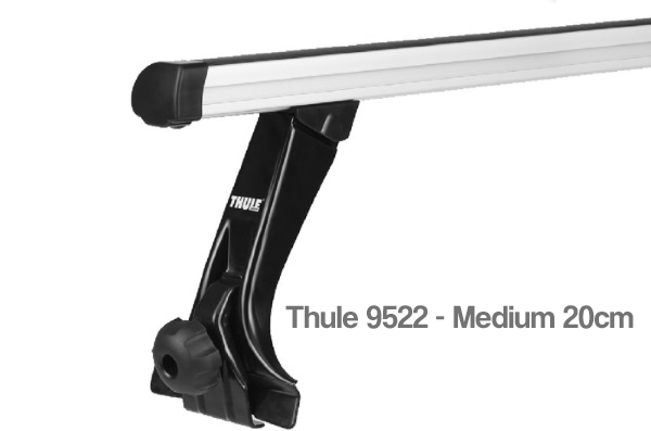 Thule 9522 Foot Pack for Rain Gutters