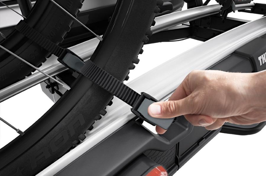 thule velospace xt 2 938 towbar bike carriers. Black Bedroom Furniture Sets. Home Design Ideas