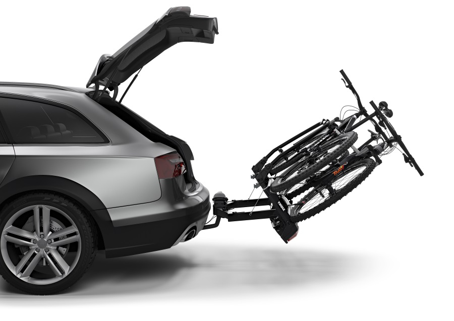 thule velospace xt 2 938 towbar bike carriers. Black Bedroom Furniture Sets. Home Design Ideas