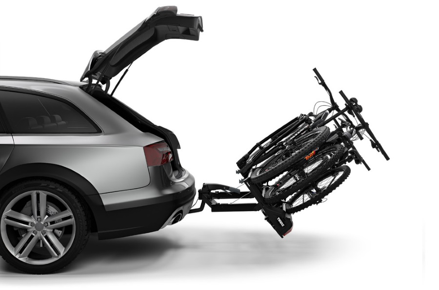 thule velospace xt 3 939 towbar bike carriers. Black Bedroom Furniture Sets. Home Design Ideas